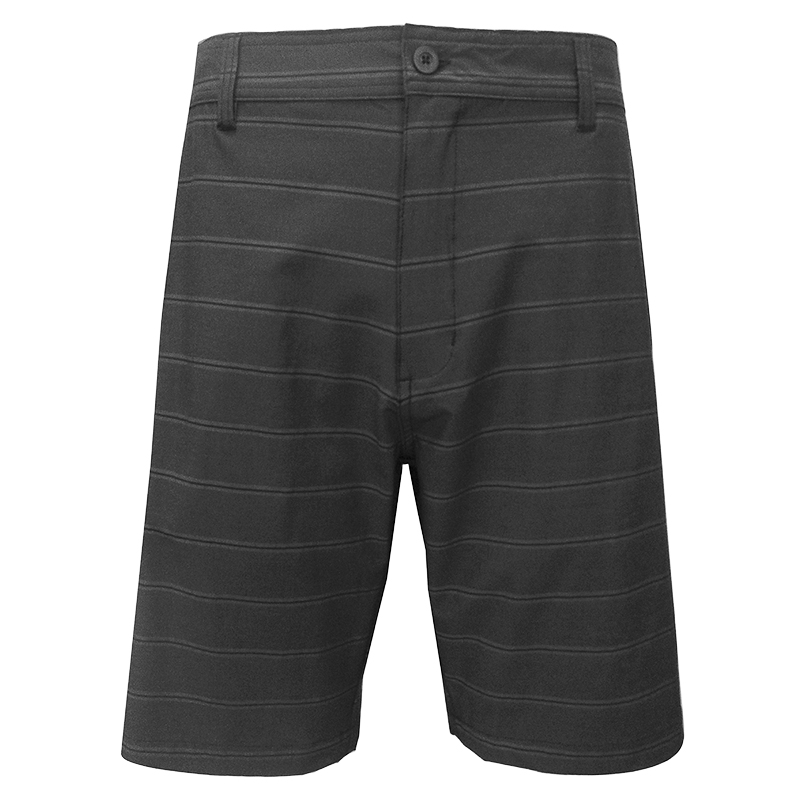 Burnside Men's Duo Shorts - Black Stripe