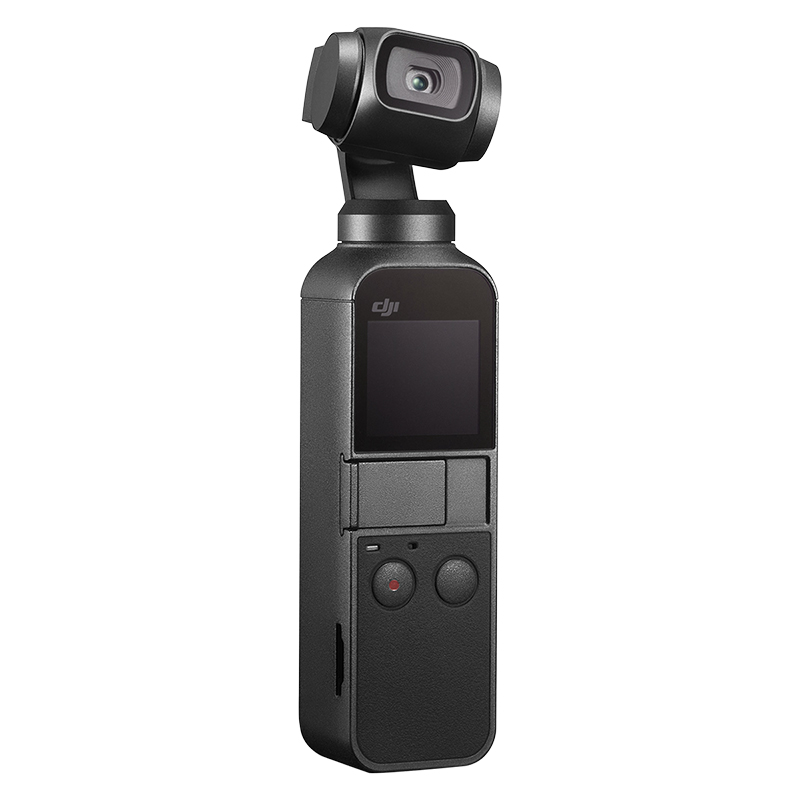 DJI Osmo Pocket - 3-Axis Stabilized Handheld 4K Camera - CP.ZM.00000097.01