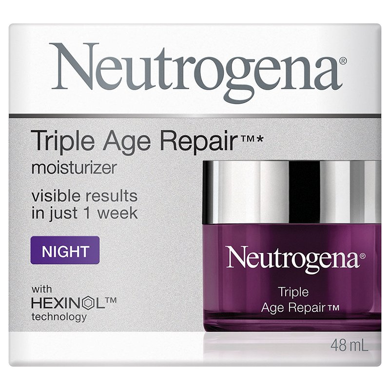 Neutrogena Triple Age Repair Moisturizer - Night - 48ml