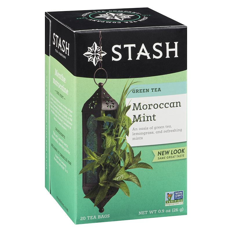 Stash Moroccan Mint Green Tea - 20's