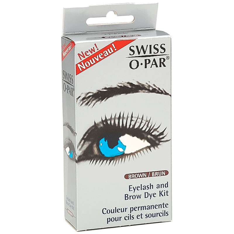 Swiss O Par Eyelash And Brow Dye Kit Brown London Drugs