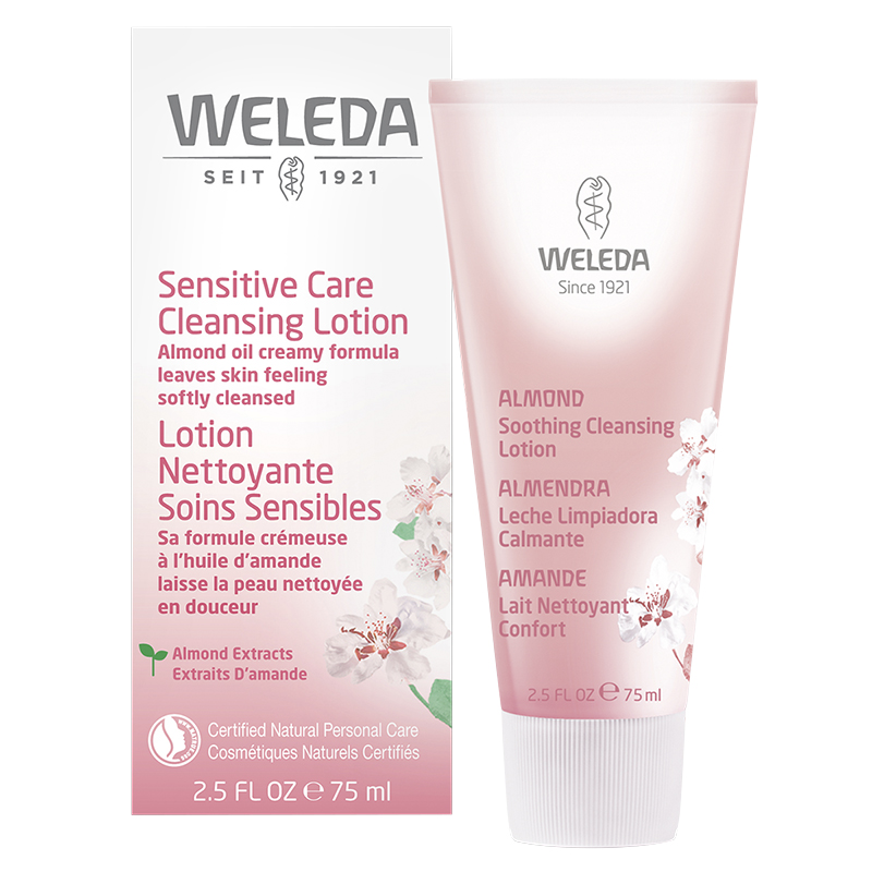 Weleda Almond Sensitive Care Cleansing Lotion - 75ml
