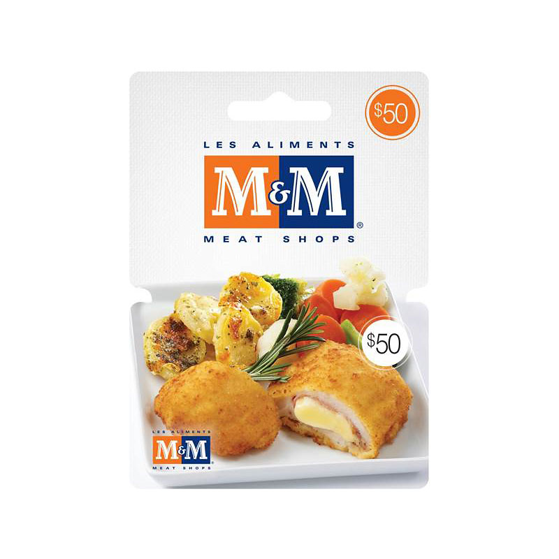 M&M Meats Gift Card - $50