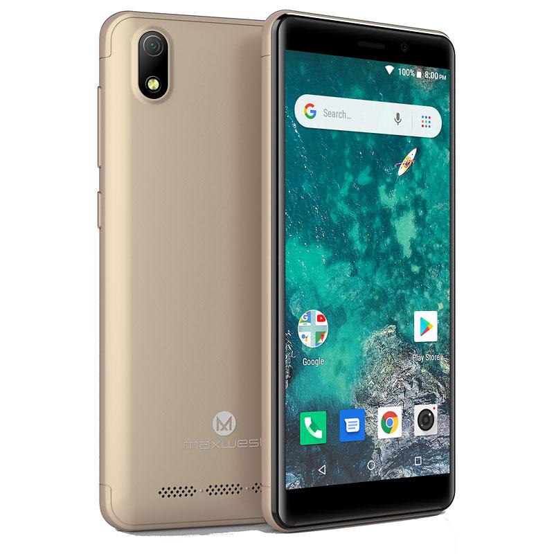 Maxwest Nitro 5R Unlocked Smartphone - Gold - NITRO 5R