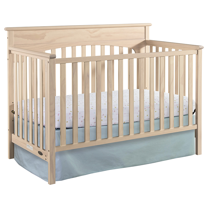 Graco Lauren 4-in-1 Convertible Crib - Whitewash - 04530-366