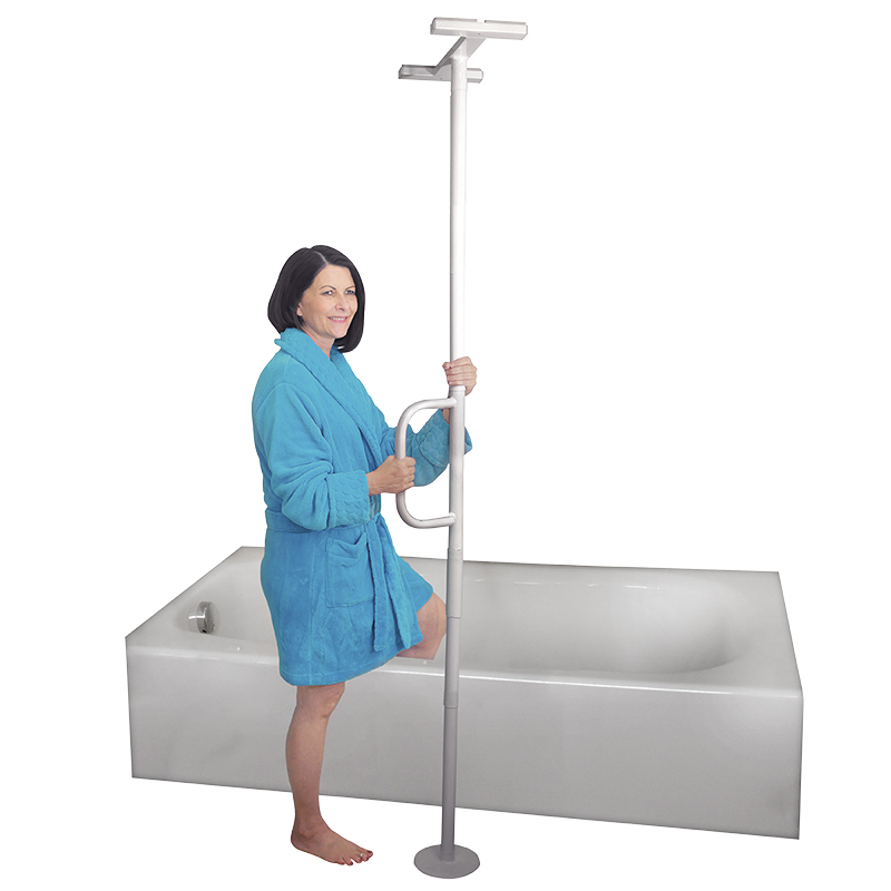 Able Life Universal Floor to Ceiling Grab Bar - 8140