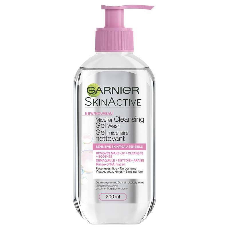 Garnier SkinActive Micellar Cleansing Gel Wash - Sensitive Skin - 200ml