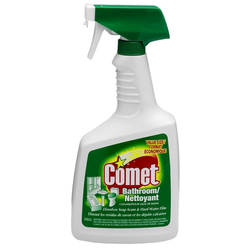 Comet Bathroom Cleaner Spray - 946ml