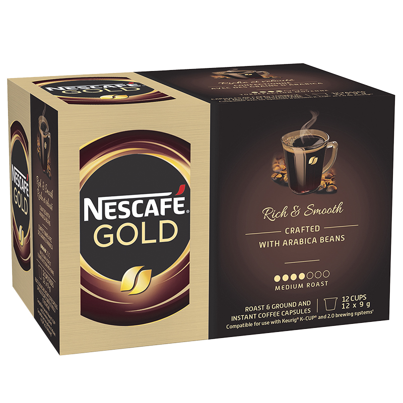 Nescafe Gold - 12 pack