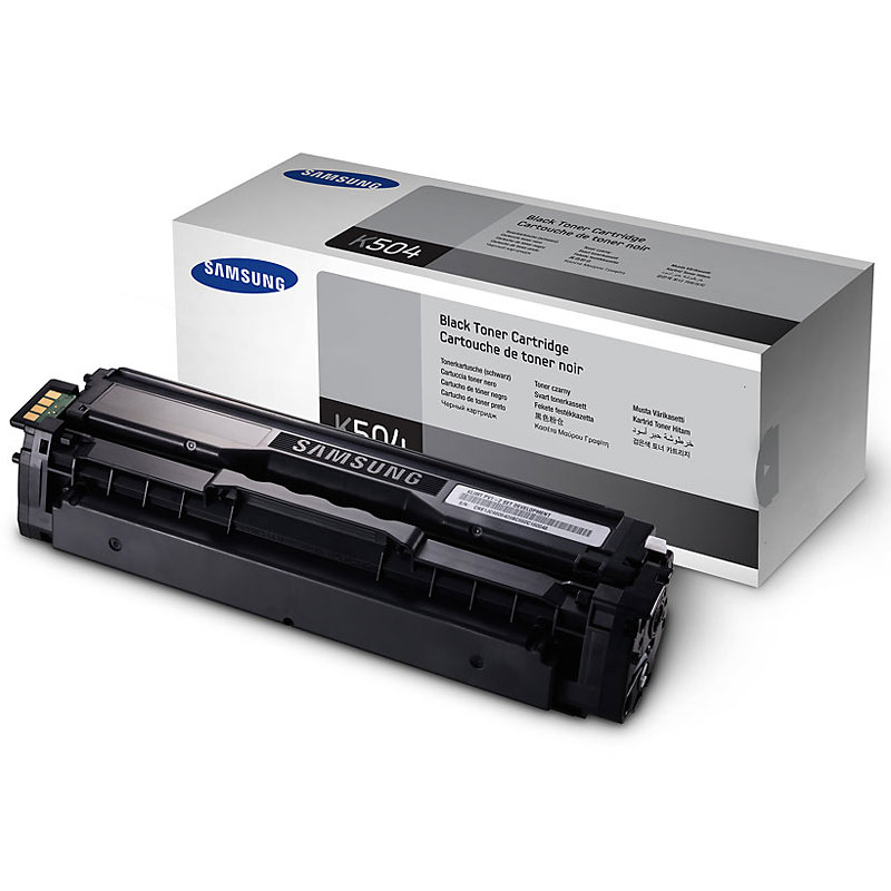 Samsung Toner - 2500 pages - Black - CLT-K504S/XAA