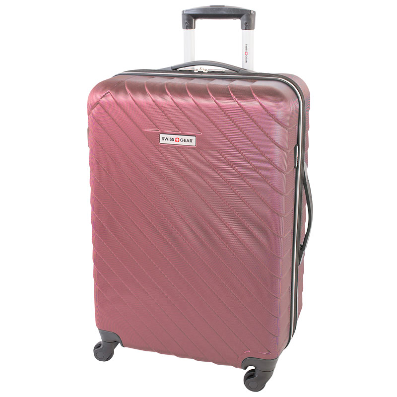 db6f9bded428 Swissgear Bold Expandable Spinner Luggage - 24