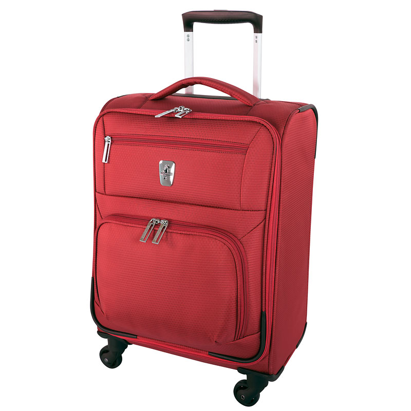 "Atlantic Glider Collection 18"" Softshell Luggage - Red"
