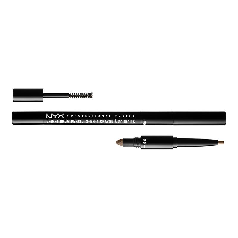 NYX Professional Makeup 3-in-1 Brow - Taupe