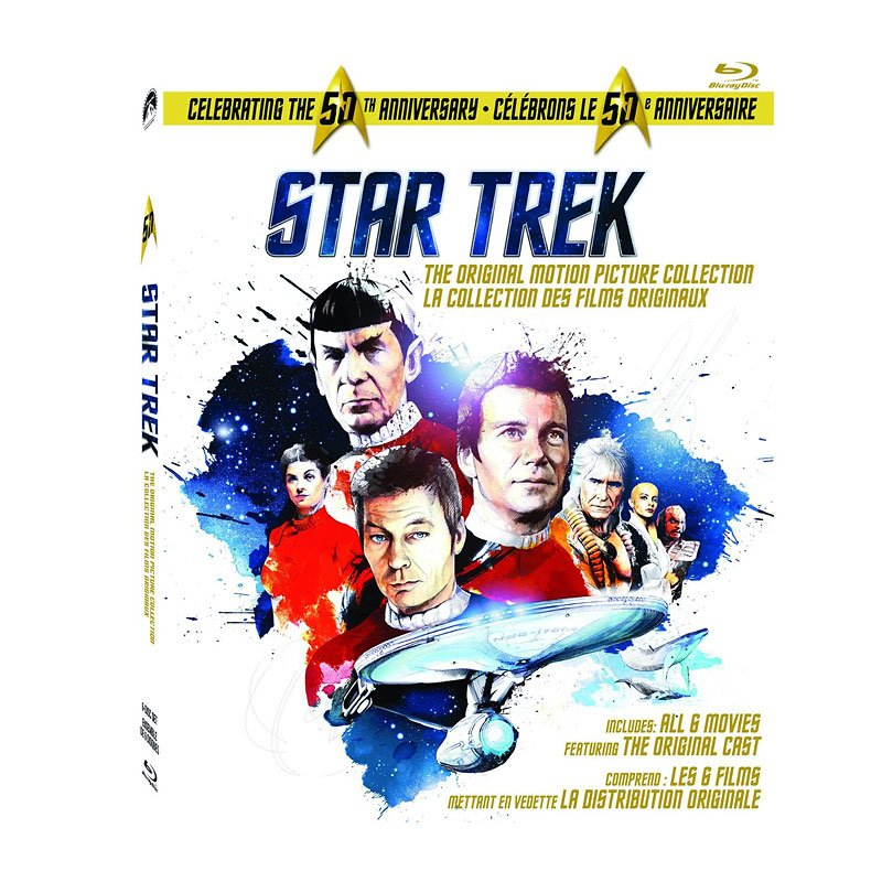Star Trek: The Original Series Motion Picture Collection - Blu-ray