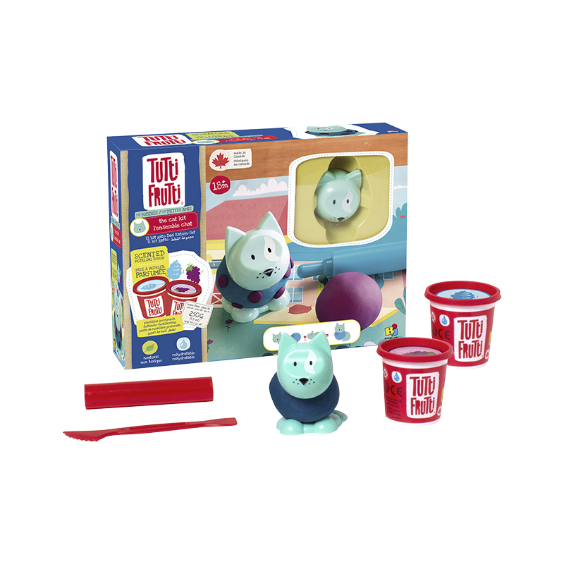 Bojeux Tutti Frutti Buddies Modelling Dough - The Cat Kit