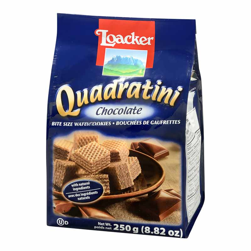 Loacker Quadratini - Chocolate - 250g