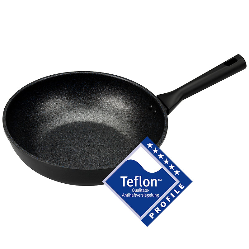 London Drugs Teflon Profile Wok - Black - 28cm