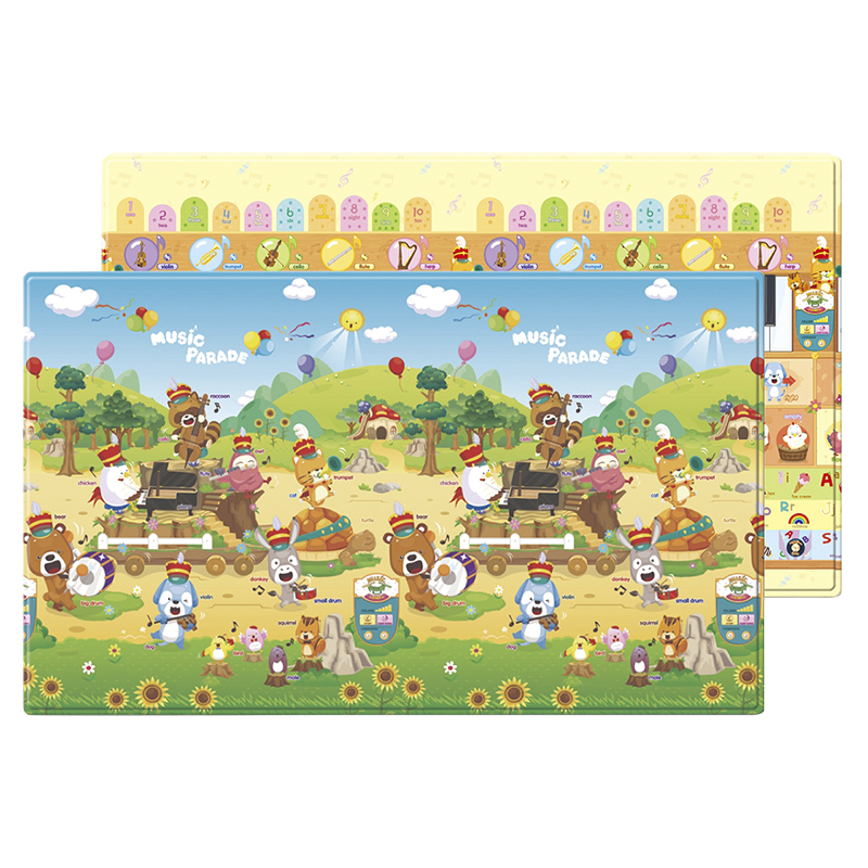 Dwinguler Soft Playmat - Music Parade with Sound Play - Large