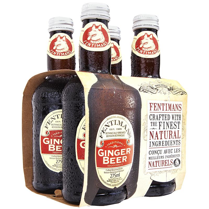 Fentimans Soft Drink Ginger Beer 4x275ml London Drugs