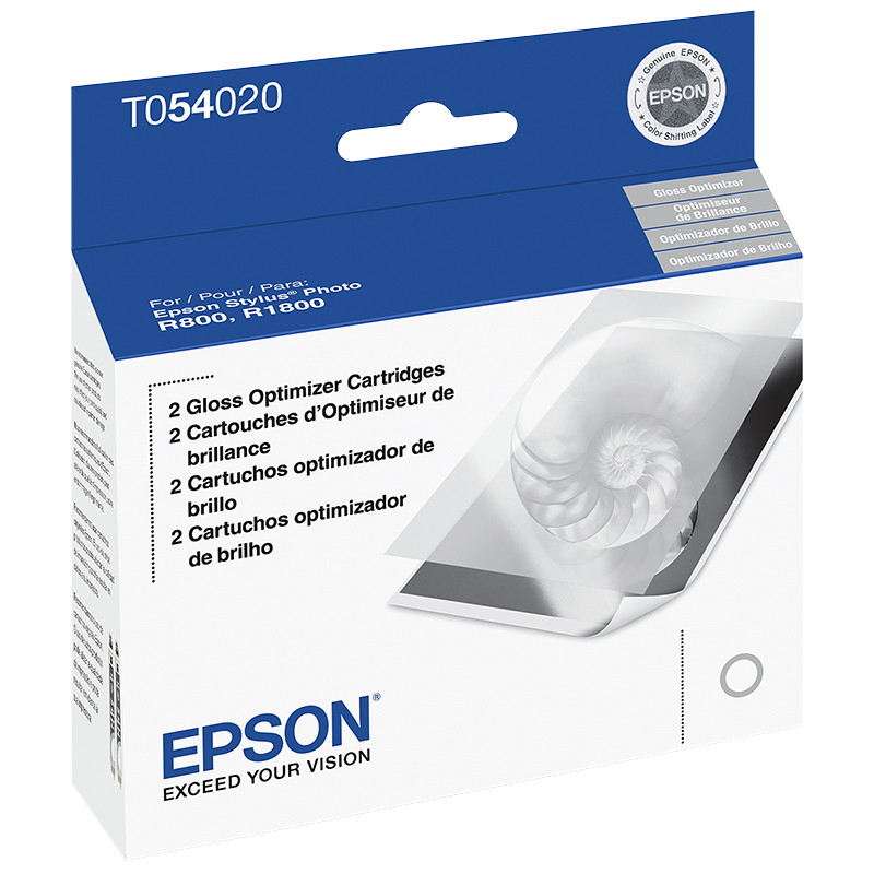 Epson R800 UltraChrome Gloss Optimizer Ink Cartridge - T054020