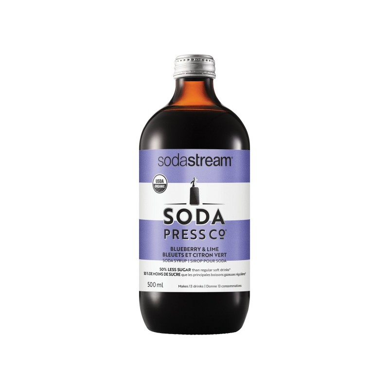 SodaStream Soda Press Drink Mix - Blueberry & Lime - 500ml