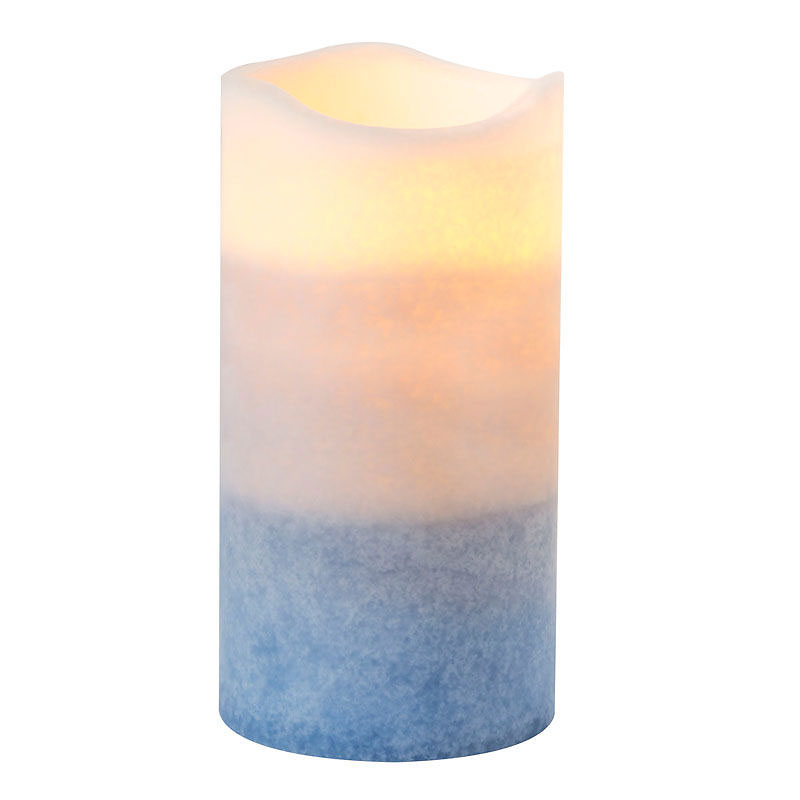 Multi-Pour Flameless Pillar Candle with a 5 Hour Timer
