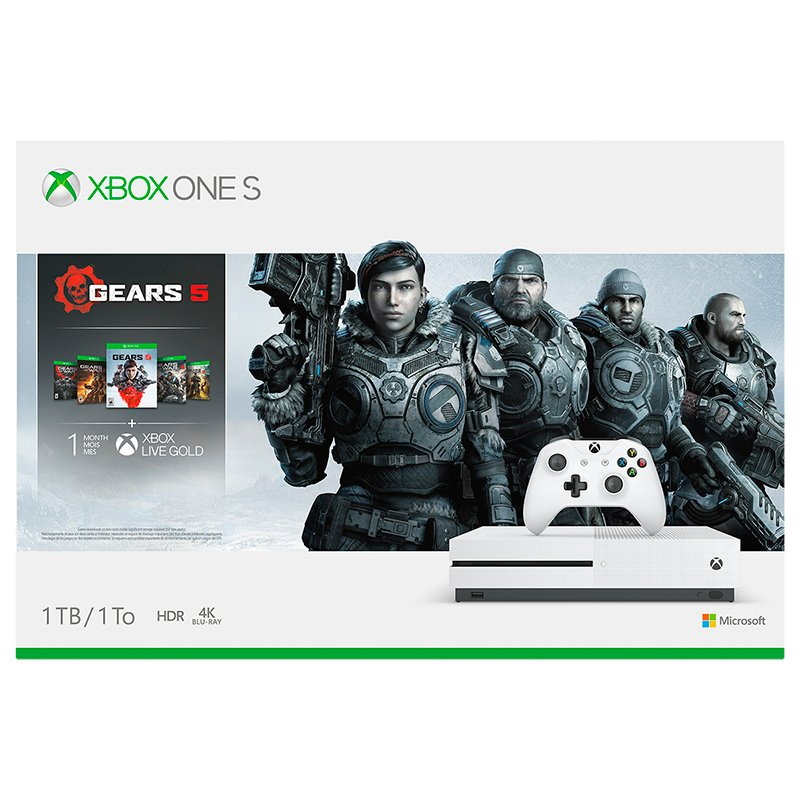Xbox One S 1TB Gears 5 Bundle - 234-01020