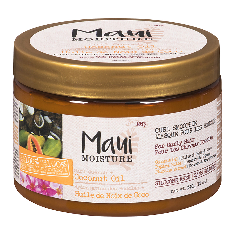 Maui Moisture Curl Quench + Coconut Oil Curl Smoothie - 340g
