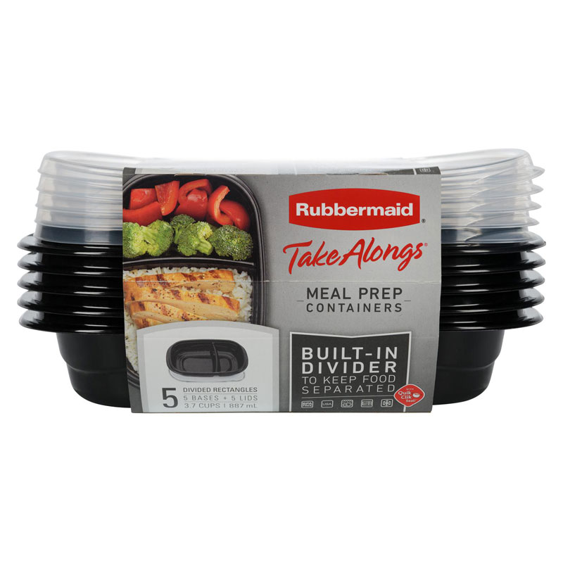 Rubbermaid TakeAlong Meal Prep - 10 pack
