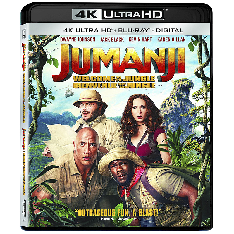 Jumanji: Welcome to the Jungle - 4K UHD Blu-ray