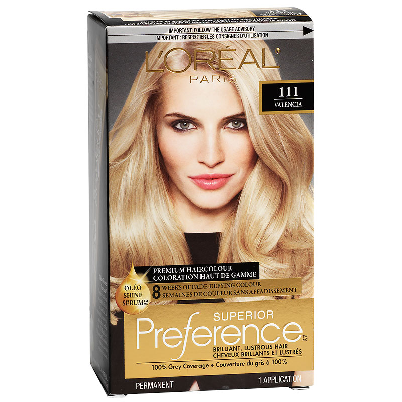 Loreal Superior Preference Fade Defying Colour Shine System 111