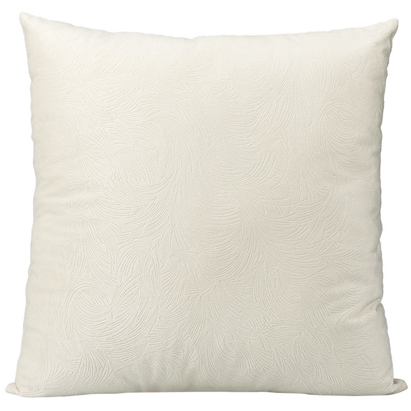 London Drugs Embossed Cushion - Buick Grey