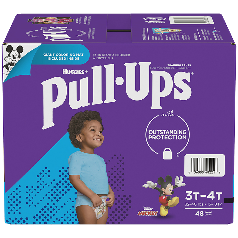 Pull-Ups Learning Designs Training Pants - Boys - Size 3T-4T - 48's