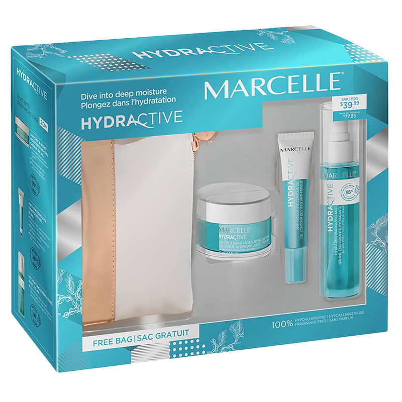 Marcelle Hydractive Cosmetic Gift Set - 3 piece