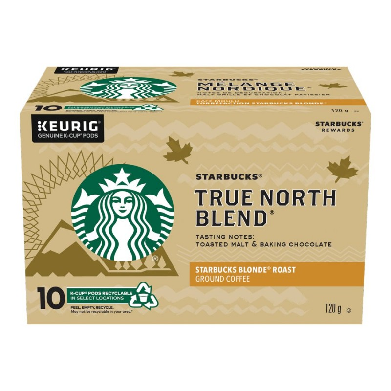 K-cup Starbucks Coffee - True North - 10 pack