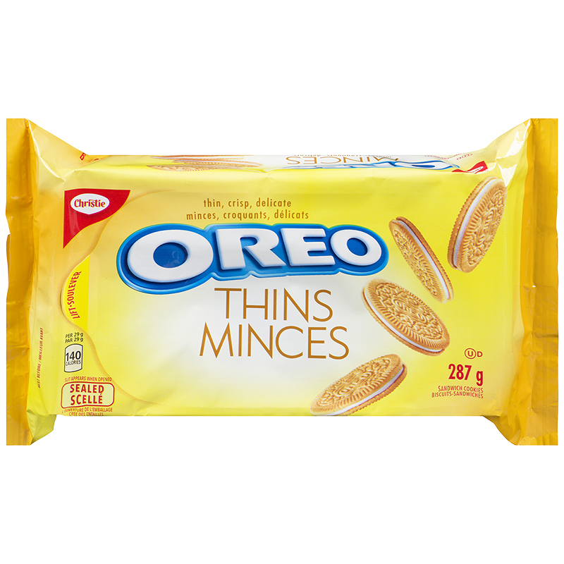 Christie Oreo Thins - Vanilla - 287g