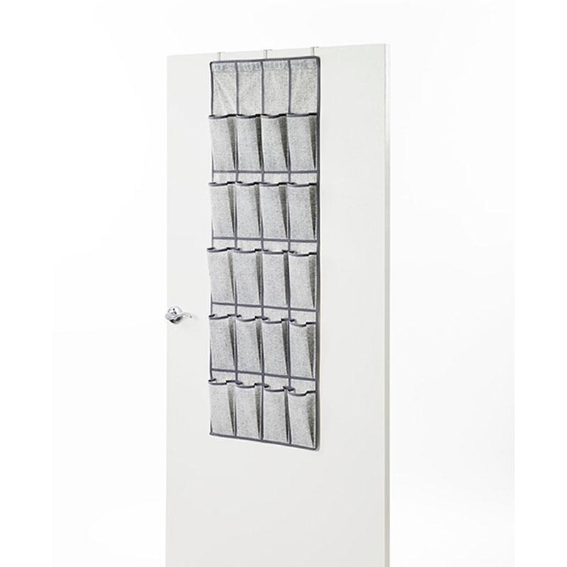 NeatFreak Closet Organizer   Pixel Grey   20 Pocket