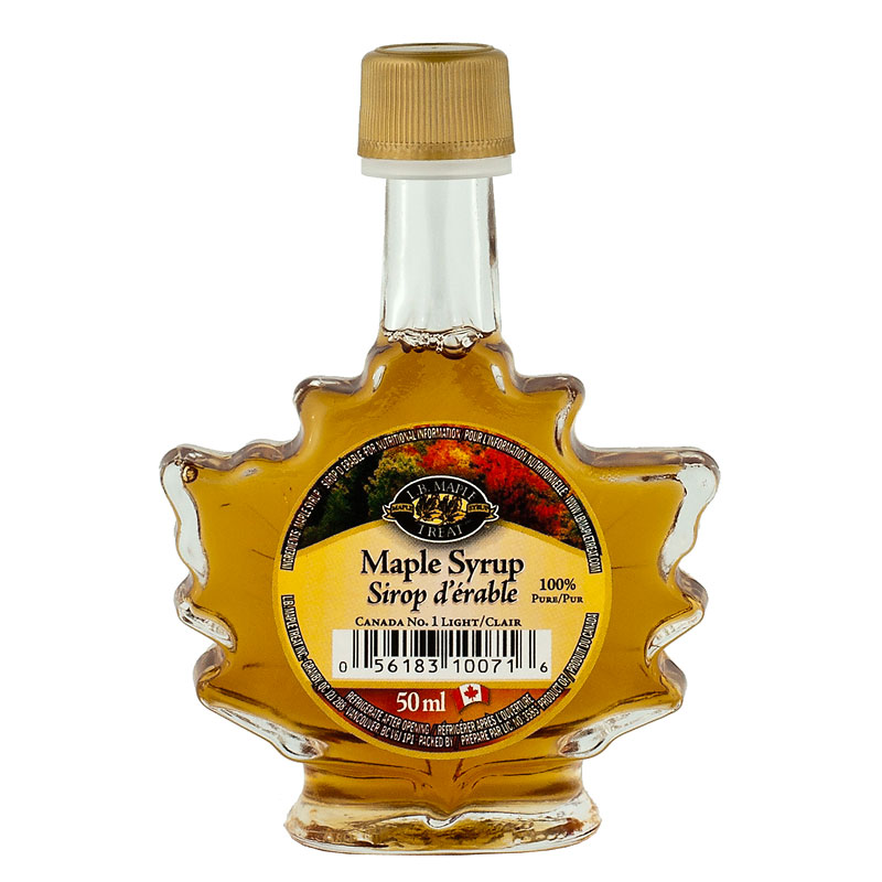 L.B. Maple Treat -  Maple Syrup No.1 Light - 50ml