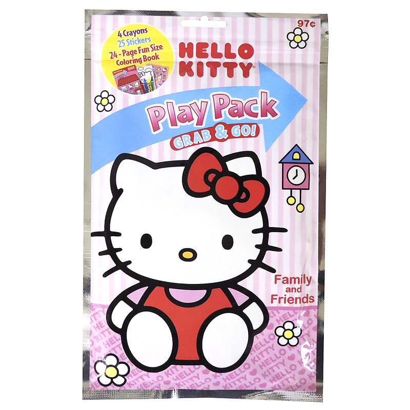 Hello Kitty Play Pack - Assorted