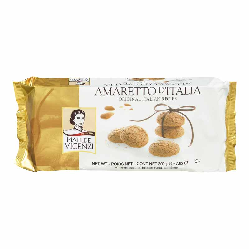 Vicenzi Amaretto Cookies - 200g