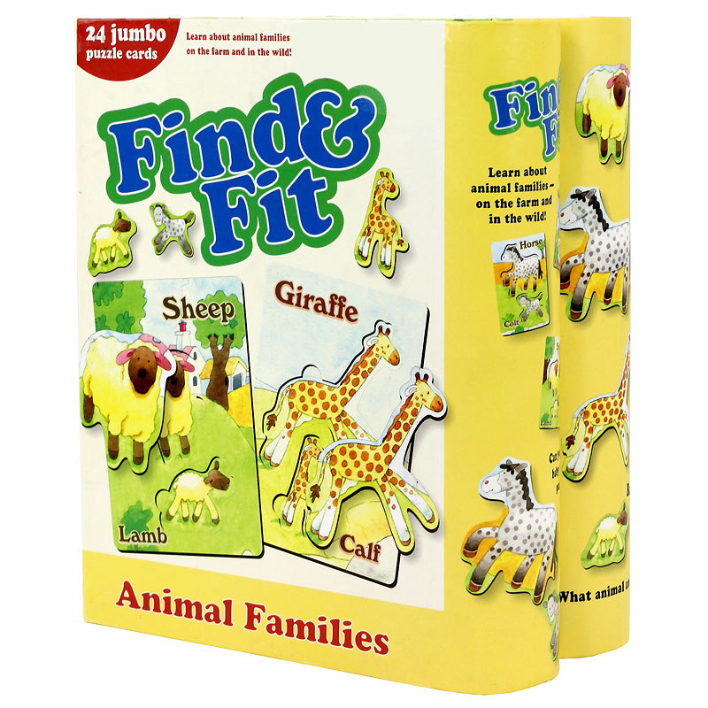 Find 'n' Fit Animal Families