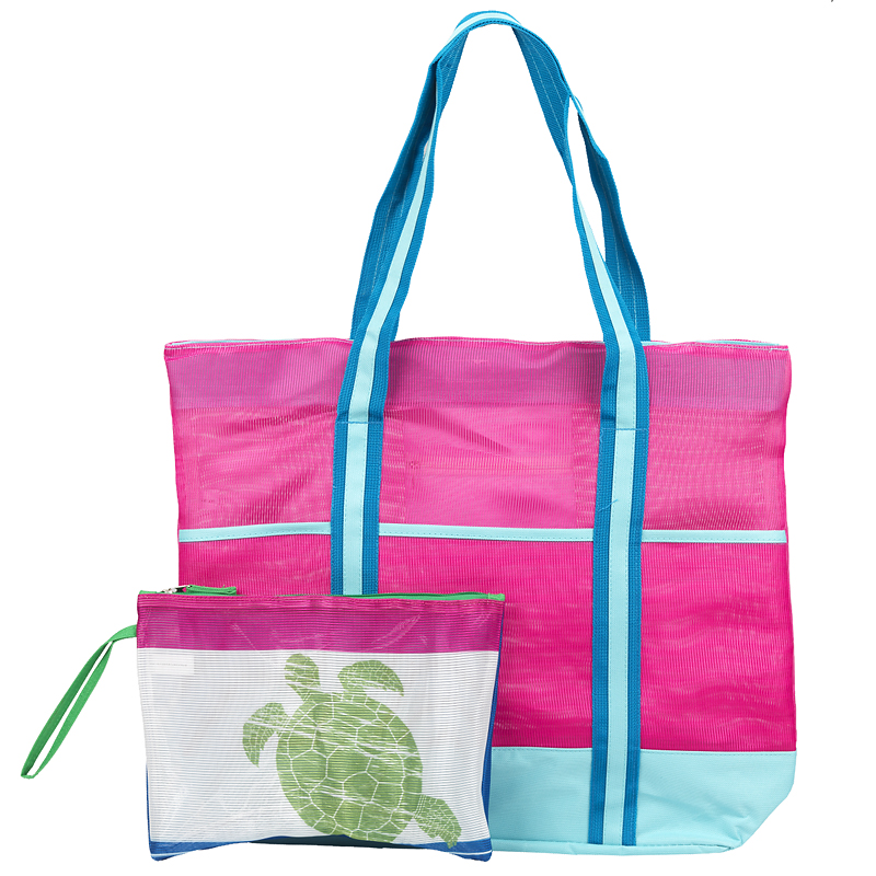 Mesh Tote with Dry Pouch