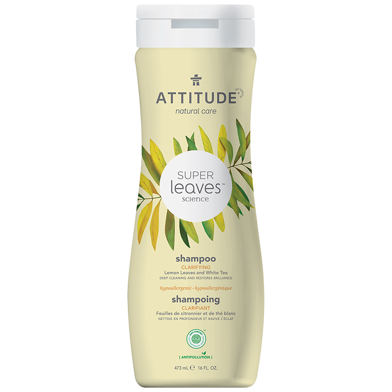 Attitude Super Leaves Science Natural Shampoo - Clarifying - 473ml