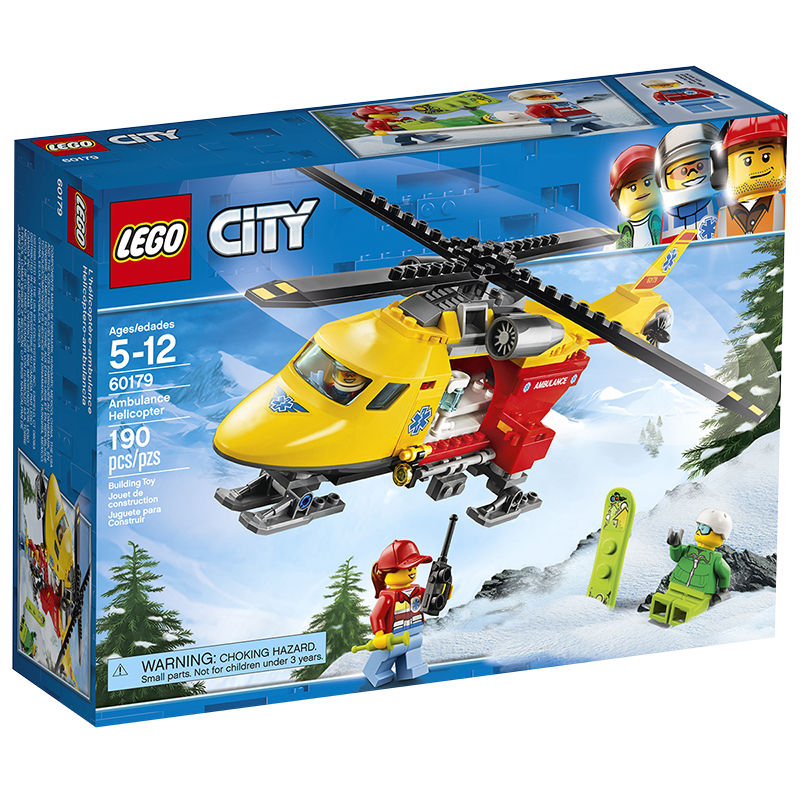 LEGO City - Ambulance Helicopter