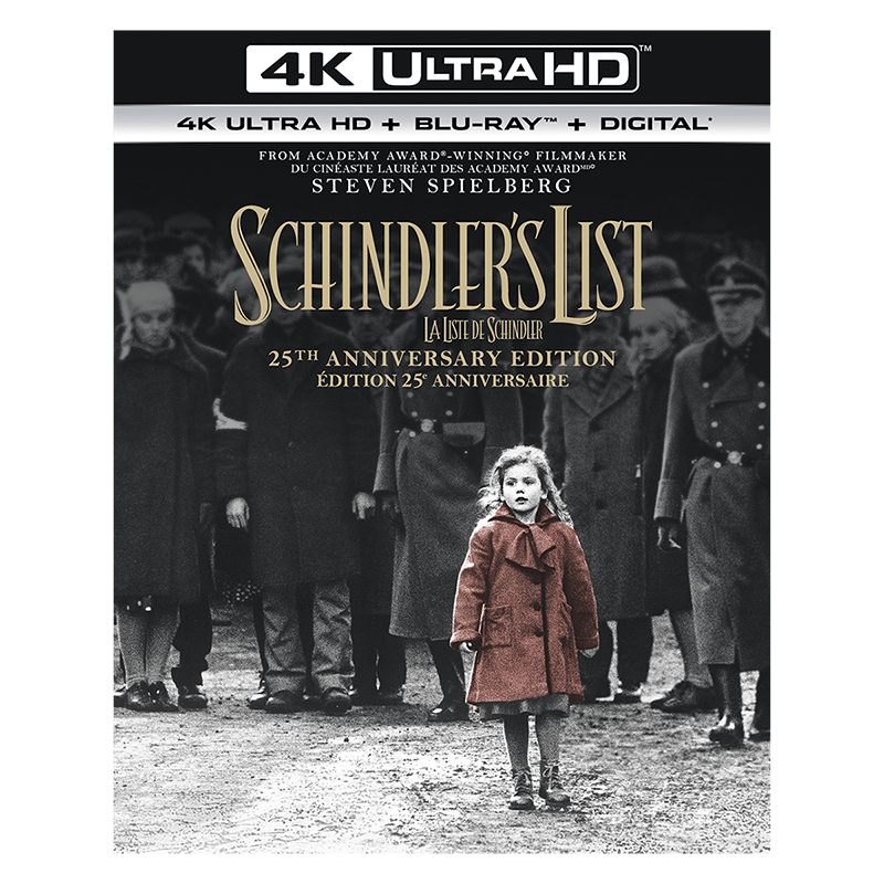 Schindler's List (25th Anniversary Edition) - 4K UHD Blu-ray