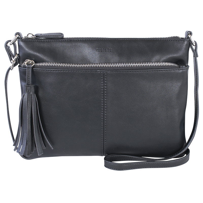 141bfadb8d8 Roots Faux Leather Crossbody Bag - Assorted