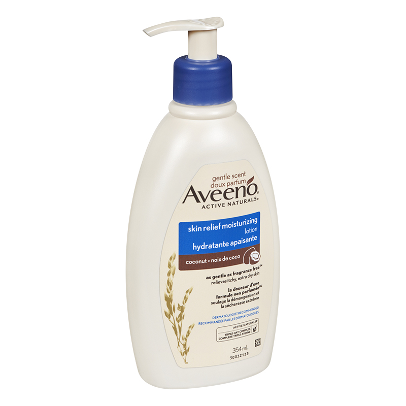 Aveeno Active Naturals Skin Relief Lotion - Coconut - 354ml
