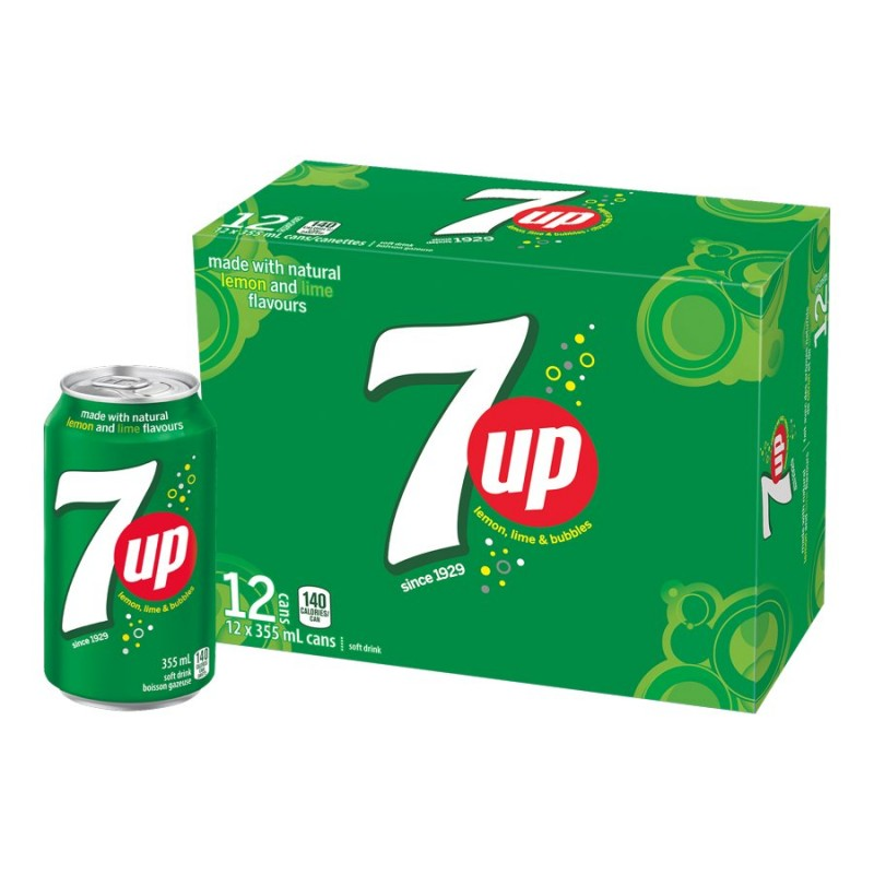 Seven-Up - Lemon-Lime - 12 pack