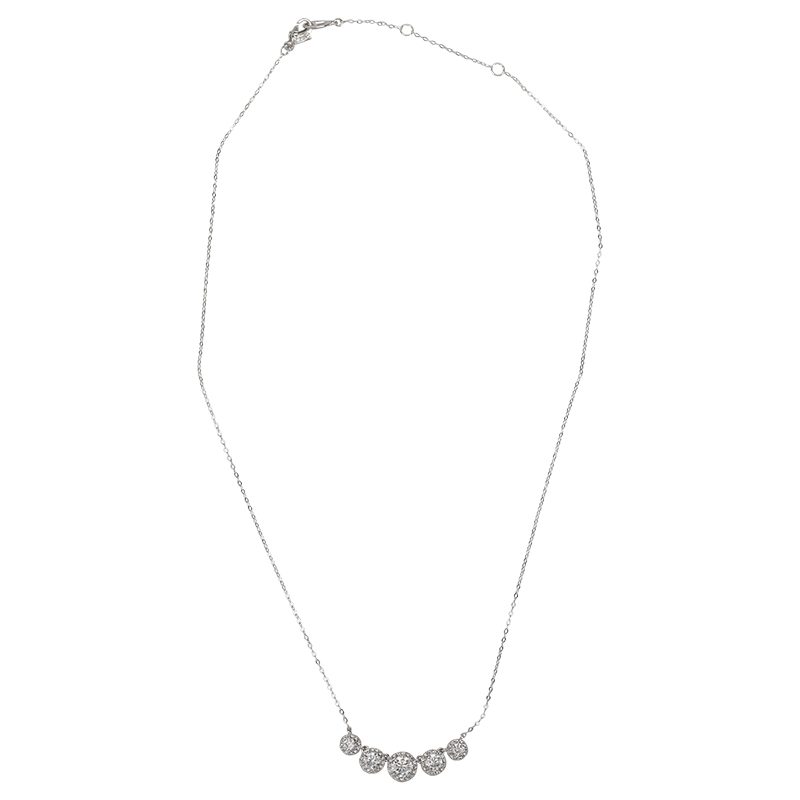 Eliot Danori Multi-Pendant Necklace - Silver Tone