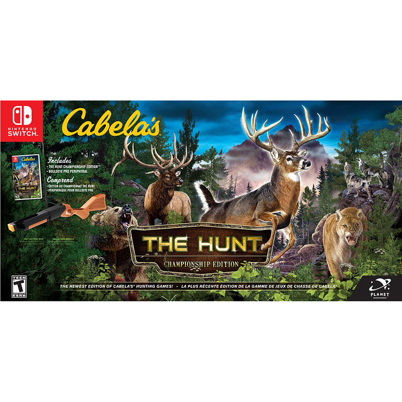Nintendo Switch Cabela's The Hunt - Championship Edition Bundle